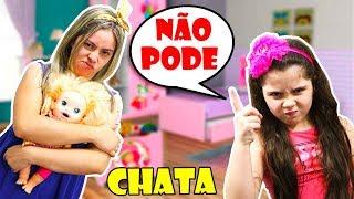 MINHA MÃE VIROU UMA CRIANÇA CHATA