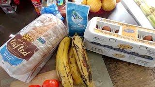 "Breakfast ""FRY"" Days: Classic Fried  Egg & Ripe Plantain Sandwich"