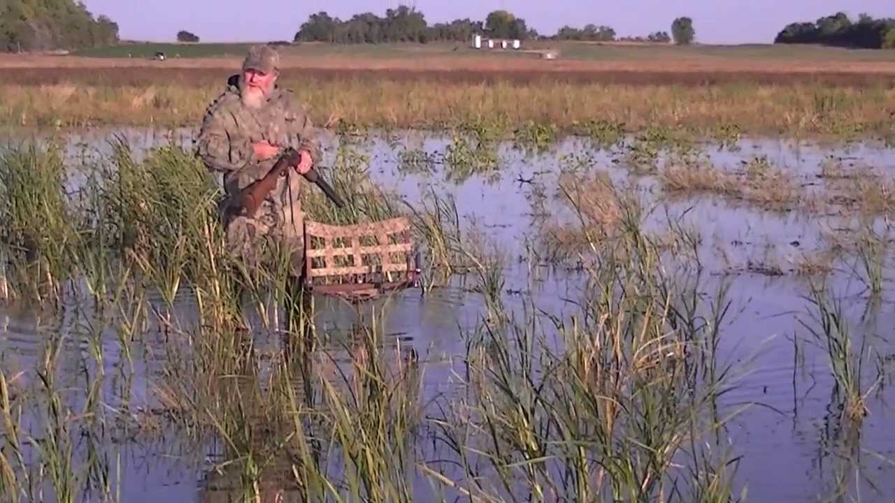 duck blind chair nichols and stone dining chairs the sportsman's hunting - waterfowl by george l. weber jr. youtube