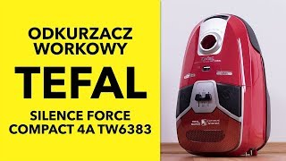пылесос Tefal Silence Force Compact TW6383