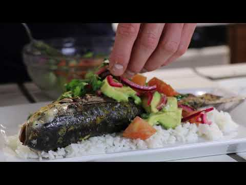 Grilled Mullet Fish