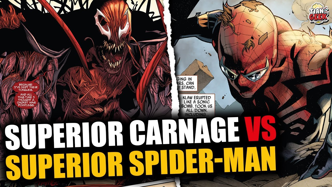 Download SUPERIOR SPIDER-MAN VS SUPERIOR CARNAGE   spiderman 3 no way home spiderverse   #Short