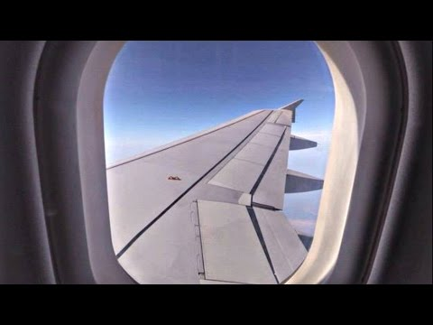 Cobalt Air A320 Flight CO719 | Athens - Larnaca | Full Flight, New Airline | GoPro Wing View