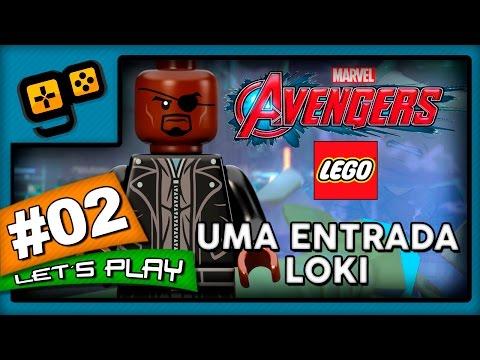 Let's Play: Lego Vingadores - Parte 2 - Uma Entrada Loki