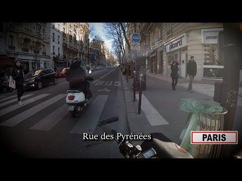 Un dimanche à vélo dans Paris