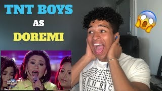 TNT Boys as DOREMI | I Can | Your Face Sounds Familiar Kids 2018 | MY REACTION | (ENG SUB)