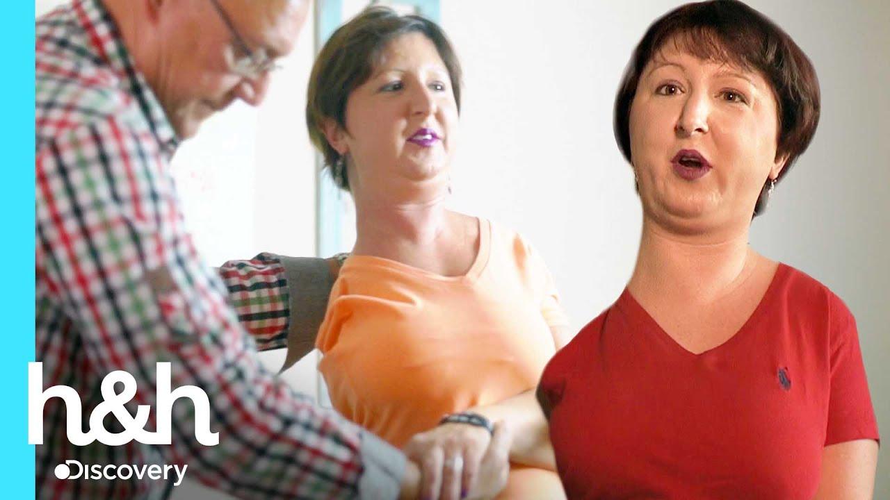 Mujer sufre letal enfermedad que petrifica su cuerpo   Mi cuerpo, mi desafío   Discovery H&H