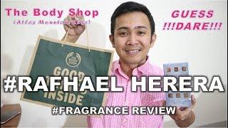 #RAFHAELVLOG #10 : Review Parfum The Body Shop Atlas Mountain Rose dan Guess Dare Woman