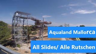 Aqualand Mallorca | Alle Rutschen/All Slides | GoPro Hero4 |