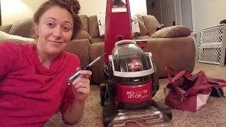 Cleaning top & bottom suction gate areas on Bissel Pro Heat 2x Pet Carpet Cleaner