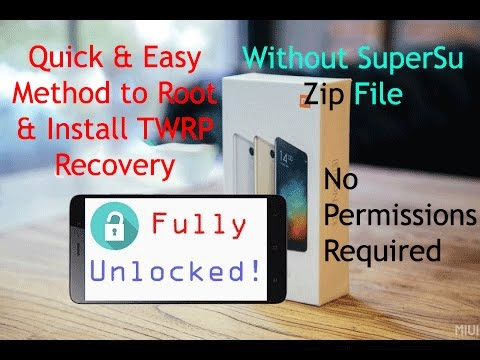 Redmi Note 3: Unlock Bootloader[Without Permissions], Root & Install  Recovery - The Ultimate Guide