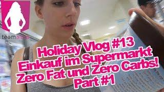 Fitness-Einkauf im Supermarkt in Miami #1 - Holiday Vlog 13 - Alina privat   www.size-zero.de
