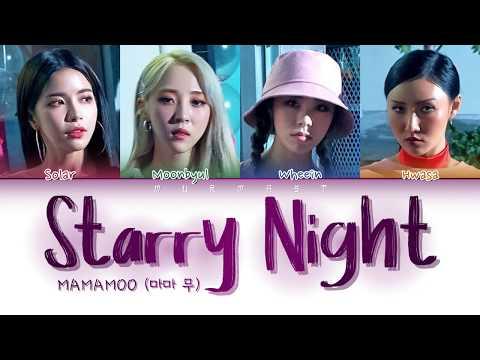 Download MAMAMOO 마마 무 - Starry Night 별 이 빛나는 밤 Japanese Ver. Color Coded s Eng/Rom/Kan/日本語字幕/가사 Mp4 baru