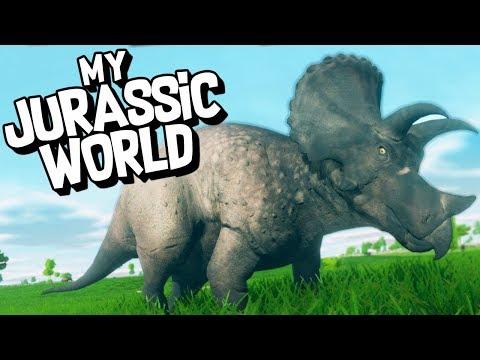 CREATE YOUR OWN JURASSIC WORLD THEME PARK! - Prehistoric Kingdom Demo Gameplay