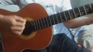 Como tocar SIGO EXTRAÑÁNDOTE en guitarra tutorial cover - J Balvin