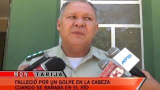 FALLECIÓ POR UN GOLPE EN LA CABEZA  CUANDO SE BAÑABA EN EL RIÓ