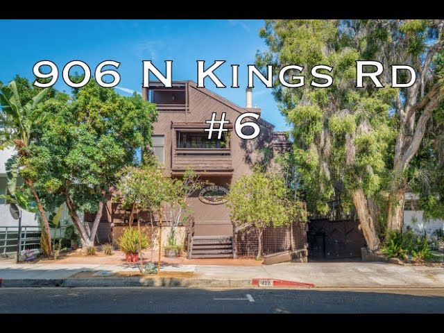 906 N Kings Rd #6, West Hollywood, CA 90069