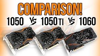 Best Budget GPU? GTX 1050 vs 1050 Ti vs 1060