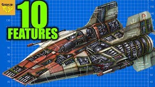 10 FEATURES that made the A-WING the BEST INTERCEPTOR in Star Wars