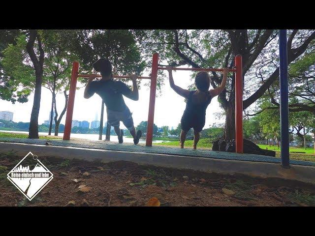 Calisthenics Park | Kuala Lumpur | Malaysia • Vlog #84