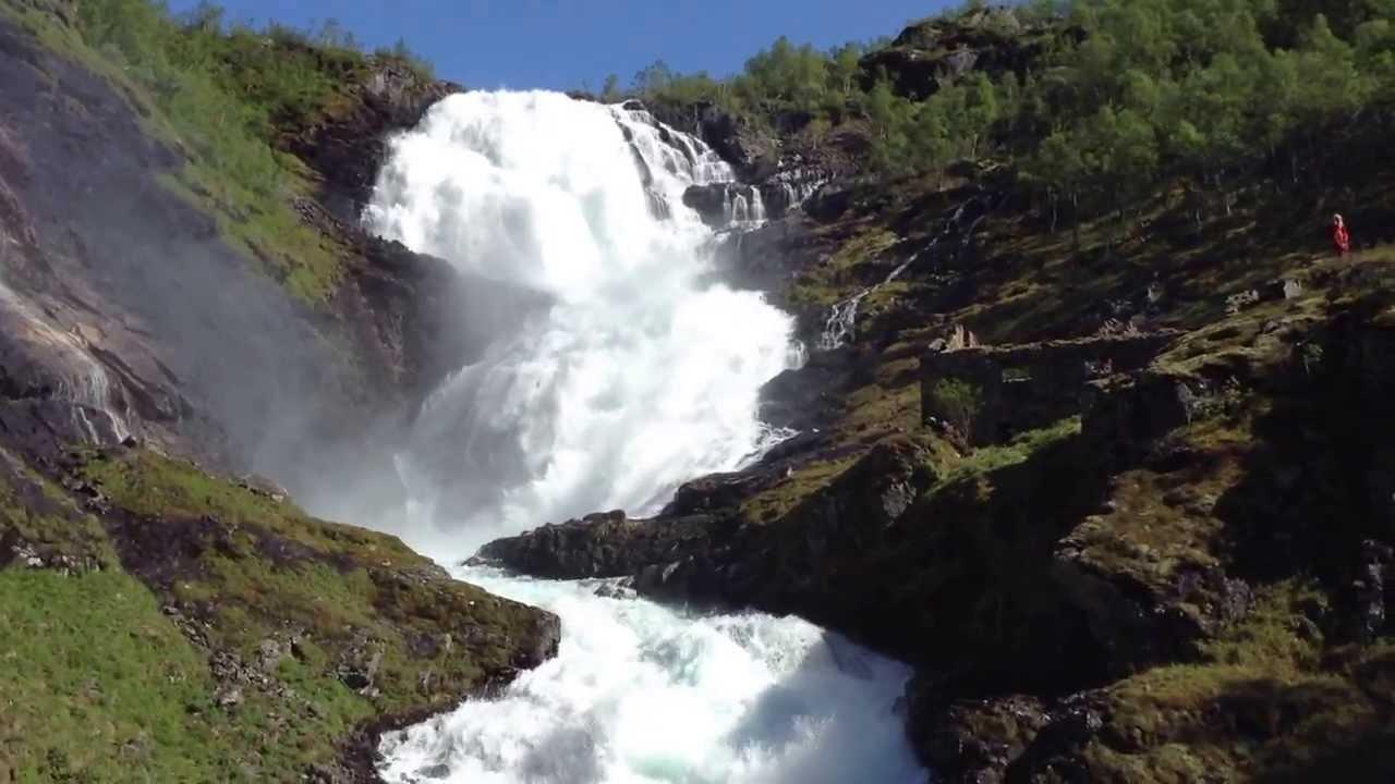 Тур Музыка Фьордов 2013. 13 - Норвегия, Водопад Кёсфоссен (Чосфоссен)