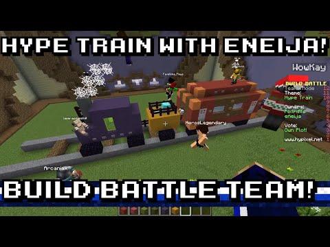 Build Battle TEAMS w/Eneija - HYPE TRAIN! - YouTube