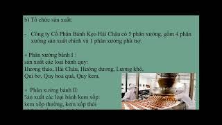 Nhóm 1_Nguyên Lý Kế Toán_ACC1001_Công Ty Cổ Phần Bánh Kẹo Hải Châu