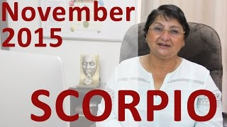 Scorpio Horoscope Nov 2015: Happy Career Opportunities Come Your Way