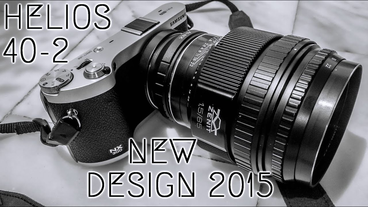 Rainy Day Helios 40 2 Gelios New Design 2015 Video Test 60fps Youtube
