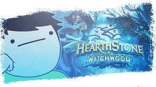 Hearthstone The Witchwood Live Reaction announcment