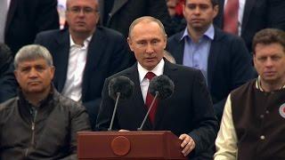 Путин набирает новую команду. Редкие кадры