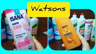 Заказ с сайта Watsons/интернет магазин/скидки