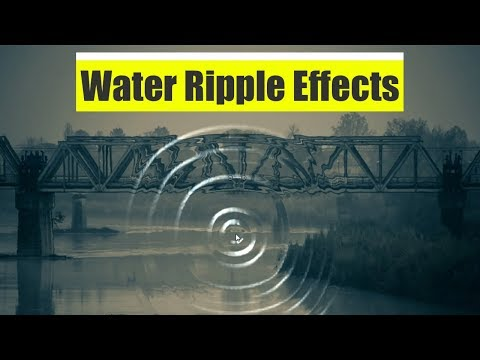 Water Ripple Effects Using Html 5 And JQuery Plugin -  Very Easy Video