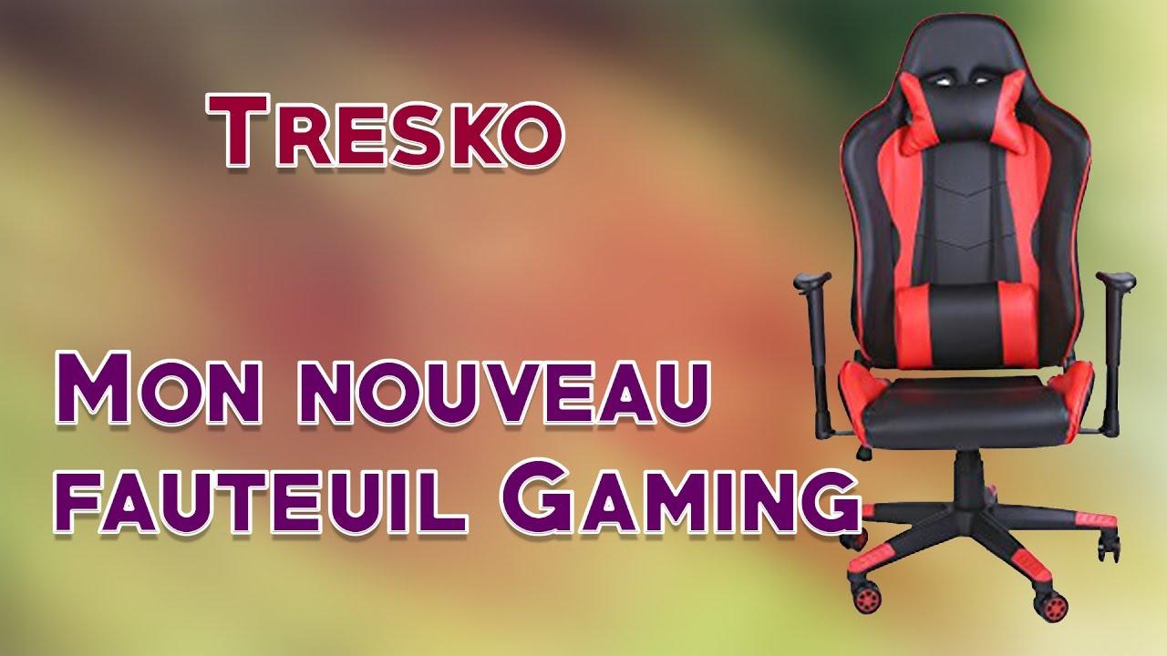 Unboxingmontageavis Mon Gamer Tresko I Sur Fauteuil Sismik doexQCBWr