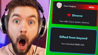 My Wife Divorced Me And I Became A MILLIONAIRE | BitLife