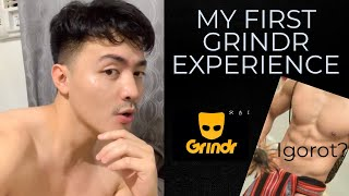 MY FIRST GRINDR EXPERIENCE   Wag gagayahin hahaha
