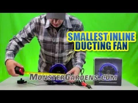 6 Quot Hyper Fan Smallest Inline Ducting Fan Powerful