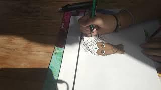 Déterminée speed paint