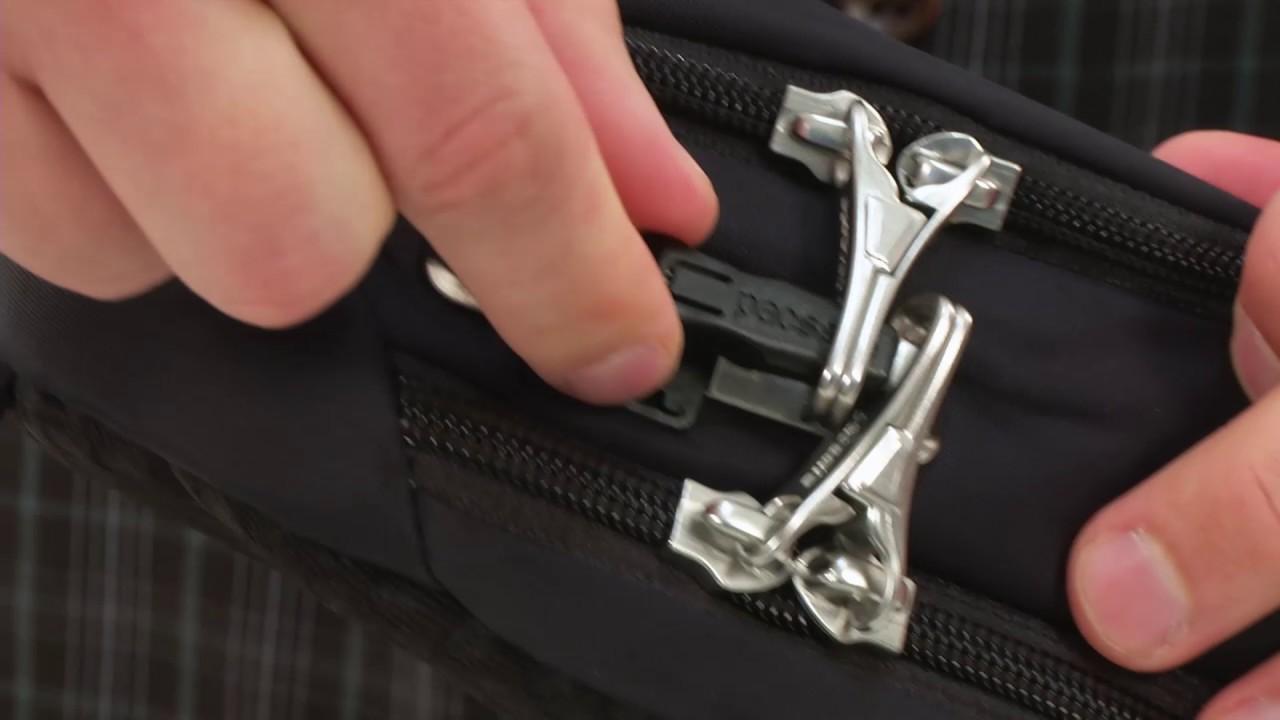 7242964ee55c0 Pacsafe Vibe 325 Anti-Theft Crossbody Pack SKU 8872029 - YouTube