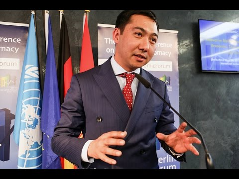 Azamat Djamankulov (Deputy Minister of Culture, Information and Tourism of the Kyrgyz Republic)