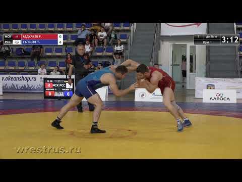 86 кг. Руслан Абдулаев - Тамерлан Тапсиев