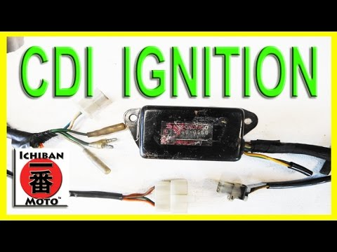 how to test and repair motorcycle CDI electronic ignition module coil system spark failure