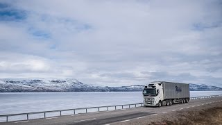 Volvo: Volvo Trucks - Steep and icy Norwegian hills - easy with the I-Shift Dual Clutch