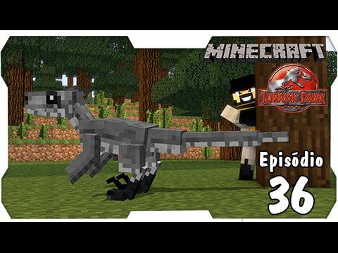 Minecraft Jurassic Park #36: Deinonychus, o Dino de Botas Violento!