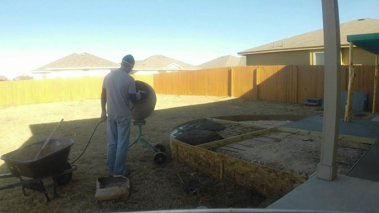 Pouring garage floor in sections gurus floor for Pouring concrete garage floor
