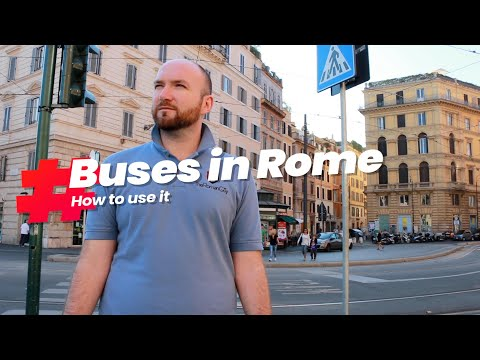How to Use the Buses in Rome