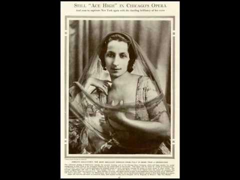 Amelita Galli-Curci - La Traviata : Ah, fors'è lui (Verdi)