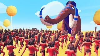 1000 MEN vs 1 MAMMOTH! The Most POWERFUL TABS Unit!? (Totally Accurate Battle Simulator)