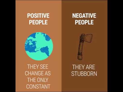 Download Life Hack - 8 Crucial differences between positive and negative people