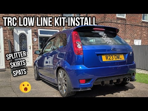 How to fit the TRC Low Line Kit - Fiesta MK6 ST